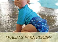 Fraldas para Piscina com Proteção solar UV