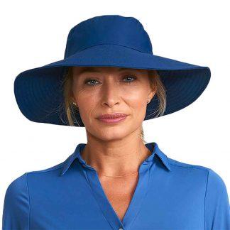 Chapéu UV Lyon com proteção solar marinho UV LIne