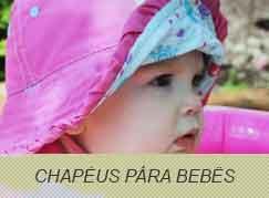 Chapéus para Bebês com Proteção Solar UV