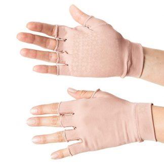 Luva Curta UV Anti-Aging com Proteção Solar UV Line Nude