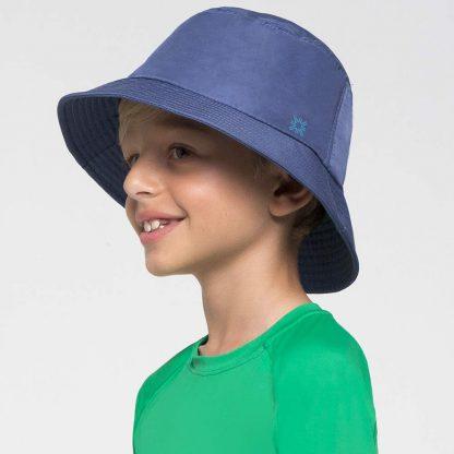 Chapéu UV Infantil Basic Kids UV Line Índigo
