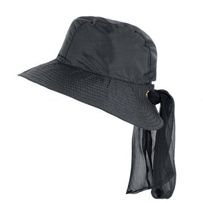 Chapéu Feminino UV San Remo com Proteção Solar UV Line Preto